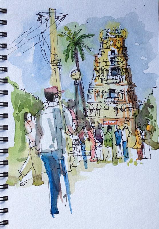 mysore_palace-gopuram