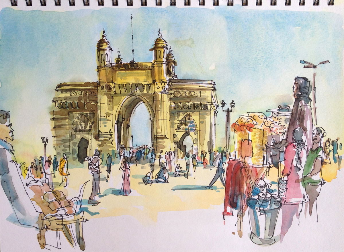My Many Indias Bombay Clocktowers Chappals And The