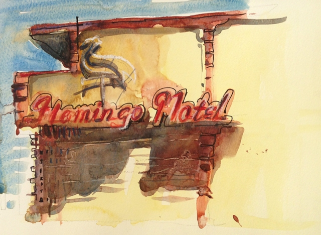vintage_flamingo_motel