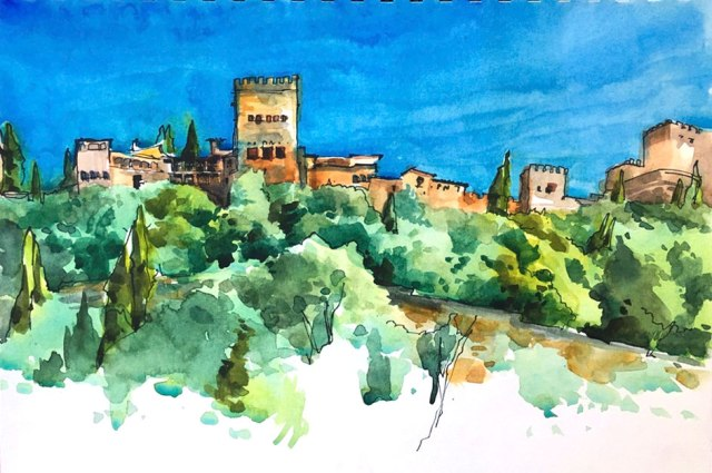 granada_alhambra_from_down