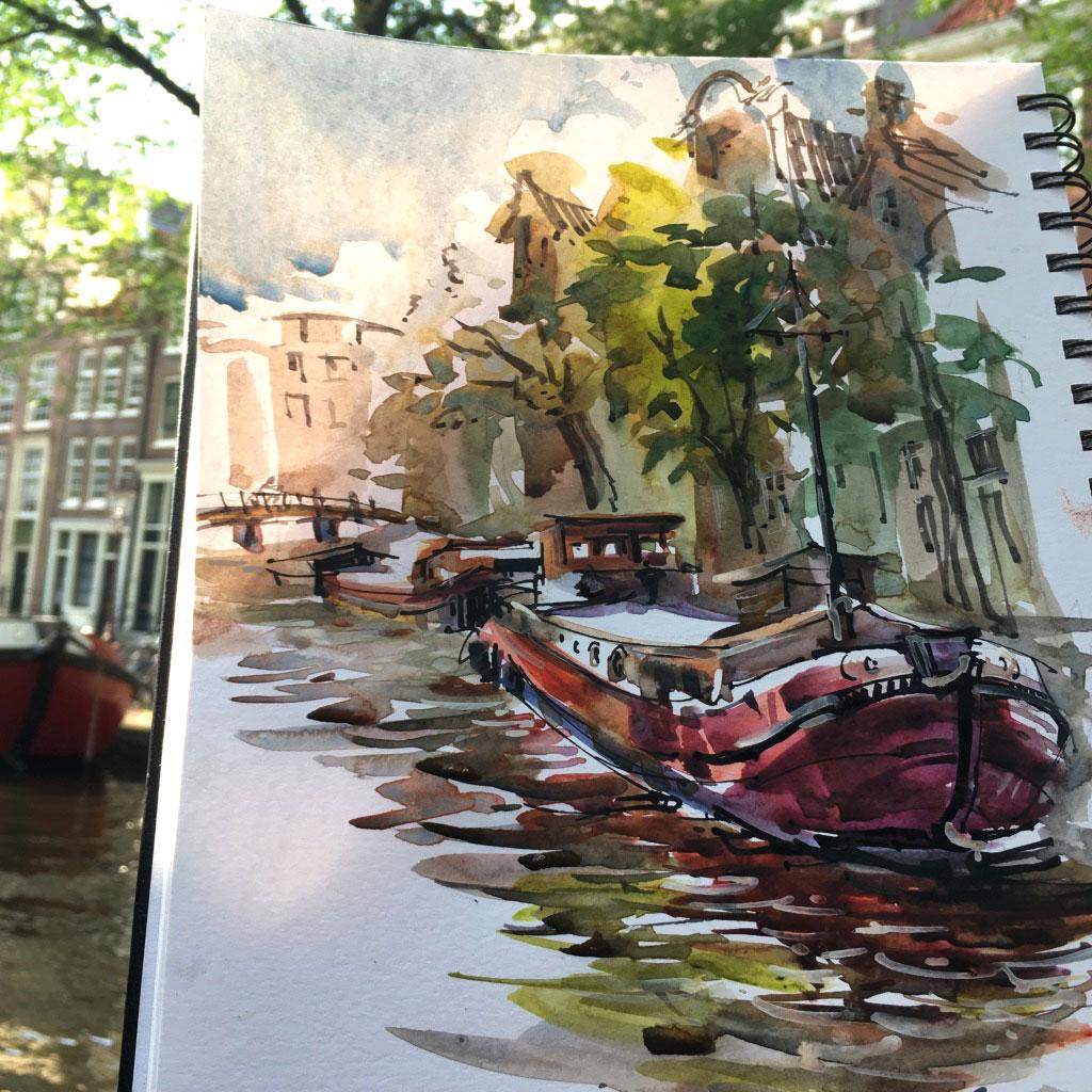 Amsterdam: Boats, Canals, Bridges, Bikes