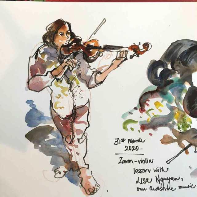 violin1kavya